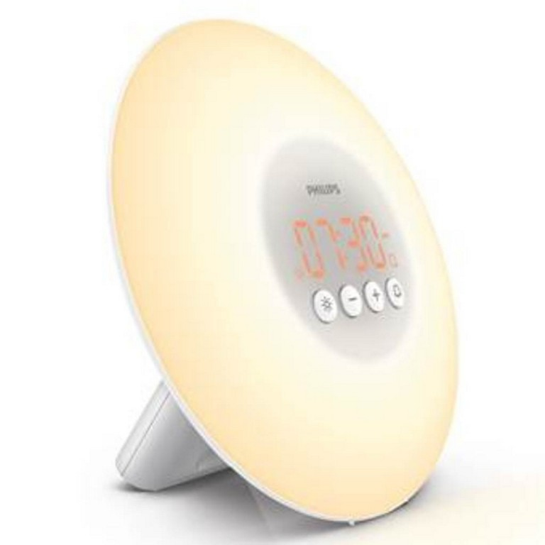 Philips Wake Up Light Lichtwecker Hf 350001 Wecker Real inside proportions 1024 X 1024
