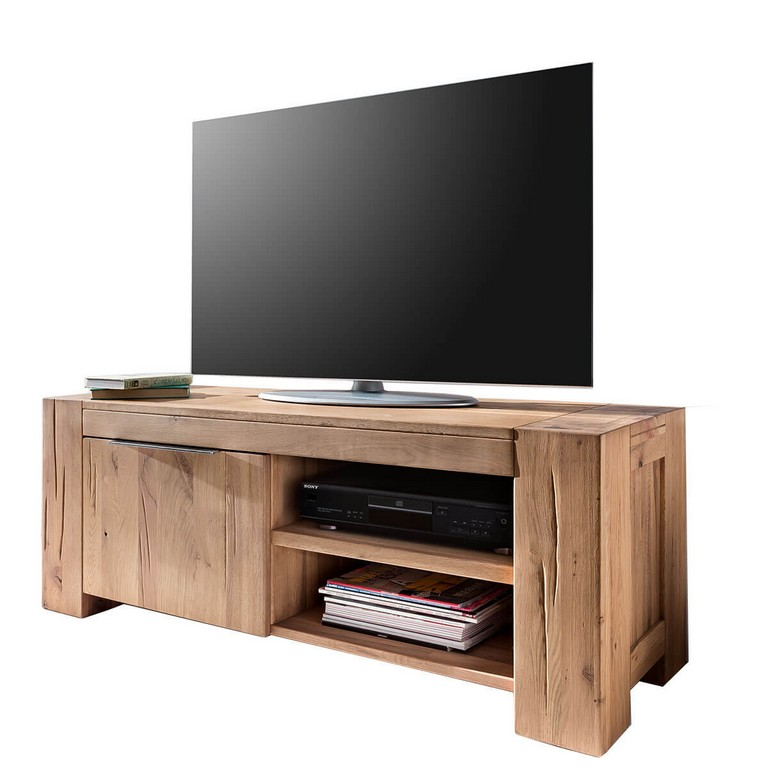 Tv Lowboard Gran In Eiche Natur Gelt 130 Cm regarding dimensions 1200 X 1200