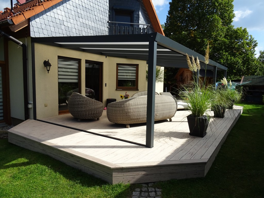 Variotect Terrassendcher Gartenzimmer Carports Fr Berlin Und throughout proportions 3525 X 2644