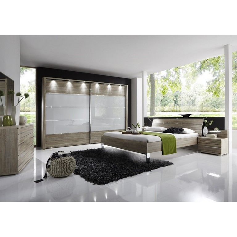 Wiemann Schlafzimmer Set Hollywood 4 Eiche Sgerau Komplett Mit in measurements 2400 X 2400