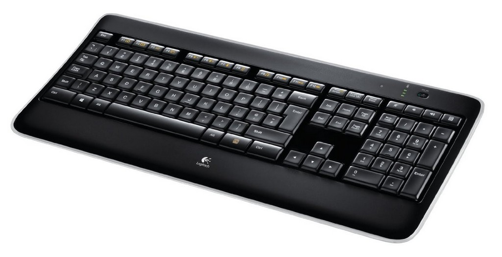 Gaming Tastatur Test Logitech K800 Wireless Illuminated Gaming within measurements 1500 X 771