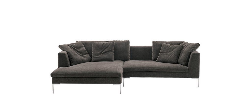 Sofas Charles Large Bb Italia Design Von Antonio Citterio intended for measurements 1484 X 580