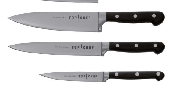 Chroma Top Chef Profi Messer Set 5tlg Kche Kochmesser Santoku in sizing 1000 X 1000