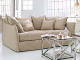 Sofa Thornton Creme Loberon with dimensions 1500 X 1500
